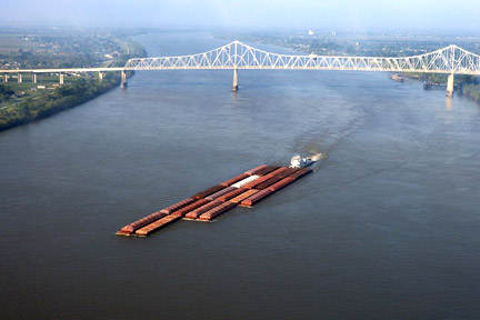 Accidents in Baton Rouge, LA can have many causes - whether a car accident, medical malpractice case, or an accident related to maritime commerce on the Mississippi River or the Gulf. For example, boats, tugs, and other vessels on the Mississippi, like the one here, can be invovled in collisions where injuries and property damage result. Call a Baton Rouge personal injury lawyer today to represent you in your claims.